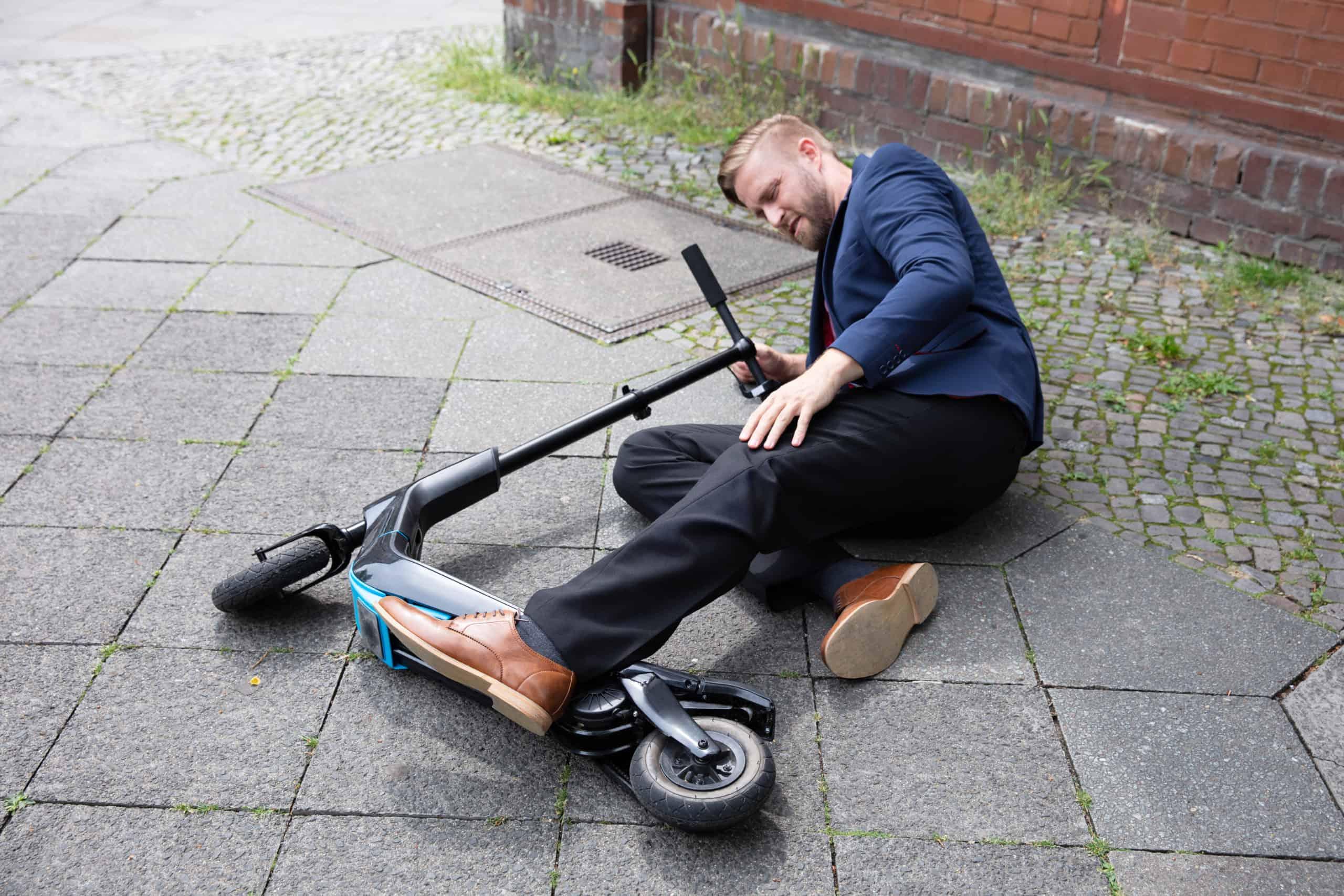 קורקינט חשמלי תאונות אופניים חשמליים
