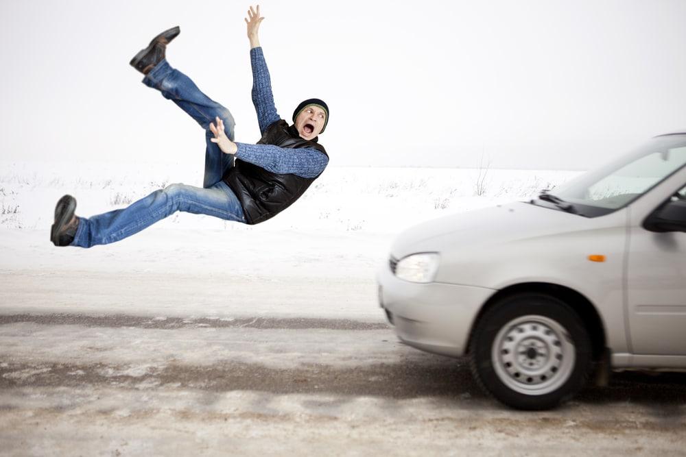 הולך רגל תאונת דרכים